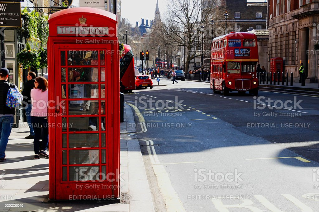 Urban Scene of London royalty-free stock photo