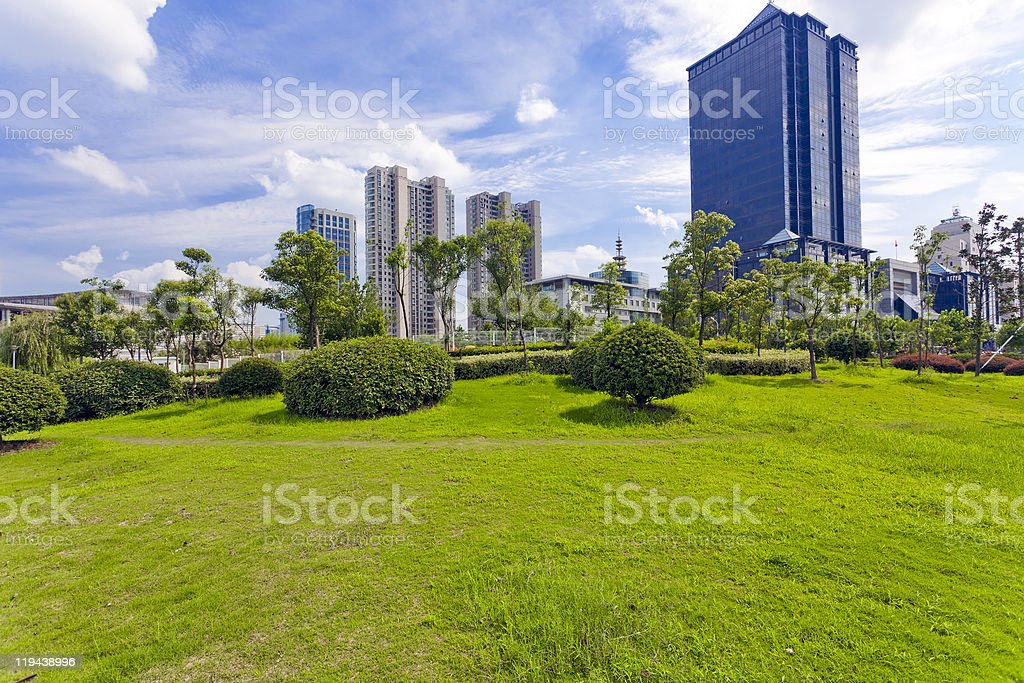 urban scene royalty-free stock photo