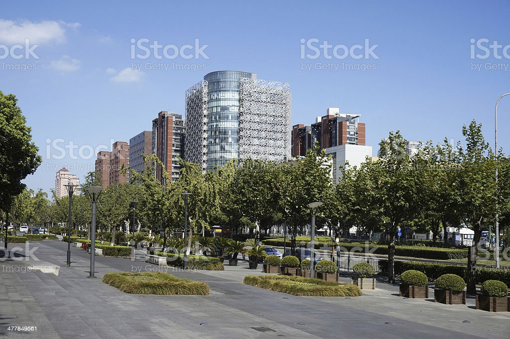 Urban Scene royalty-free stock photo