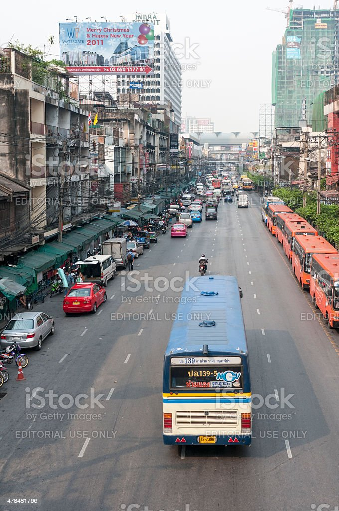 Urban Scene stock photo