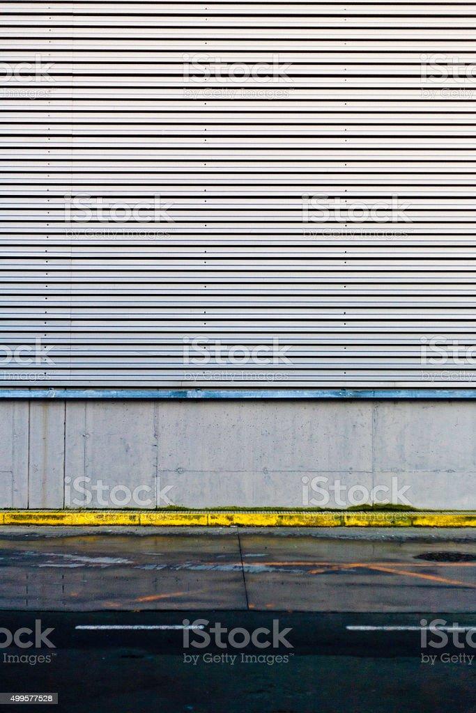 Urban scene stock photo