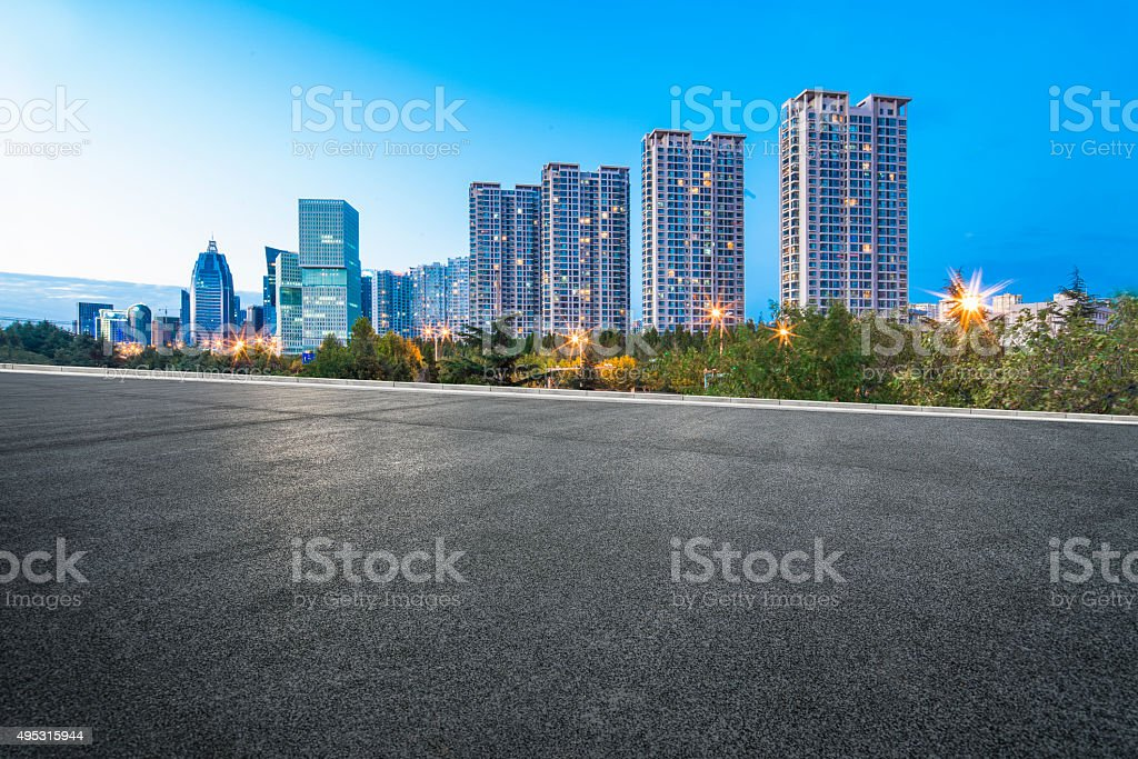 urban scenery stock photo
