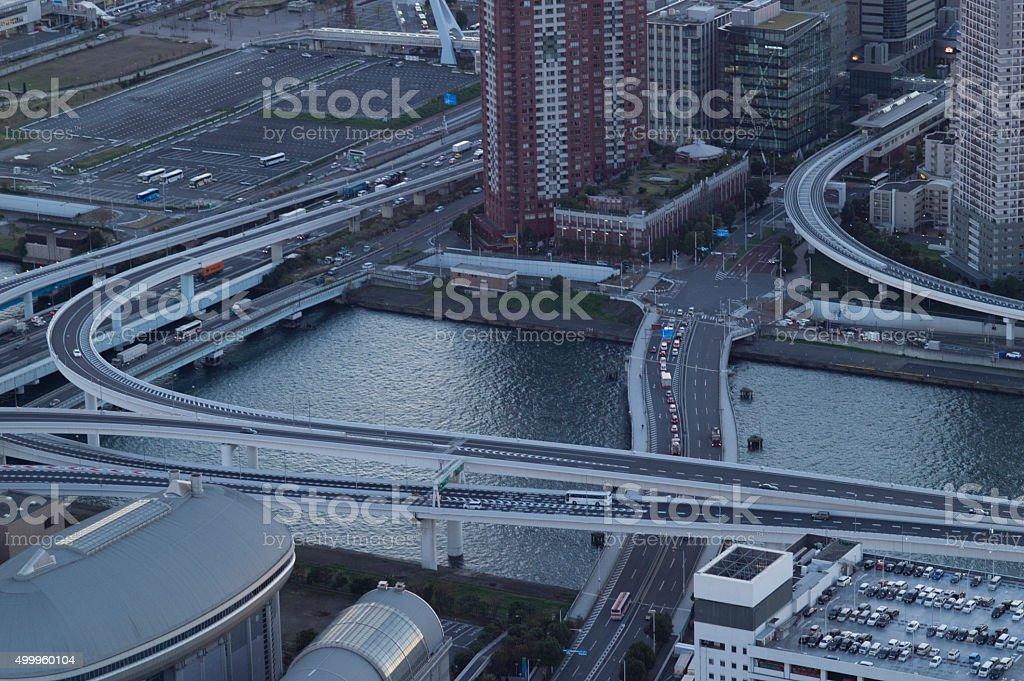 Urban scenery stock photo