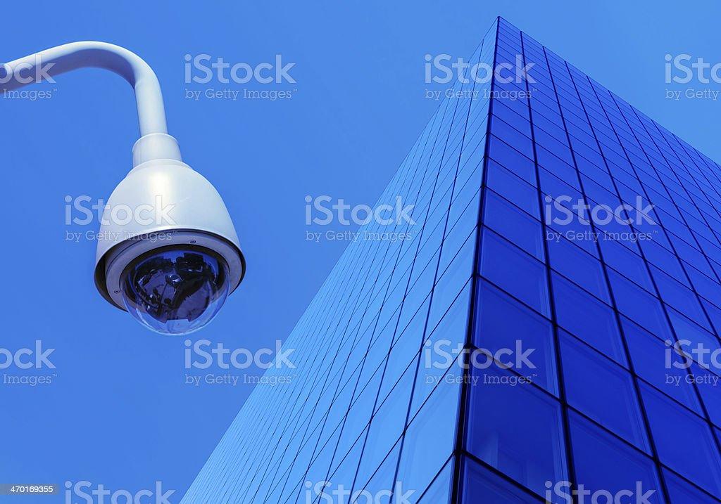 urban security cameras royalty-free stock photo