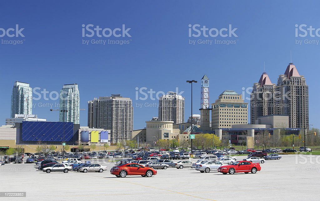 Urban Shopping Center royalty-free stock photo