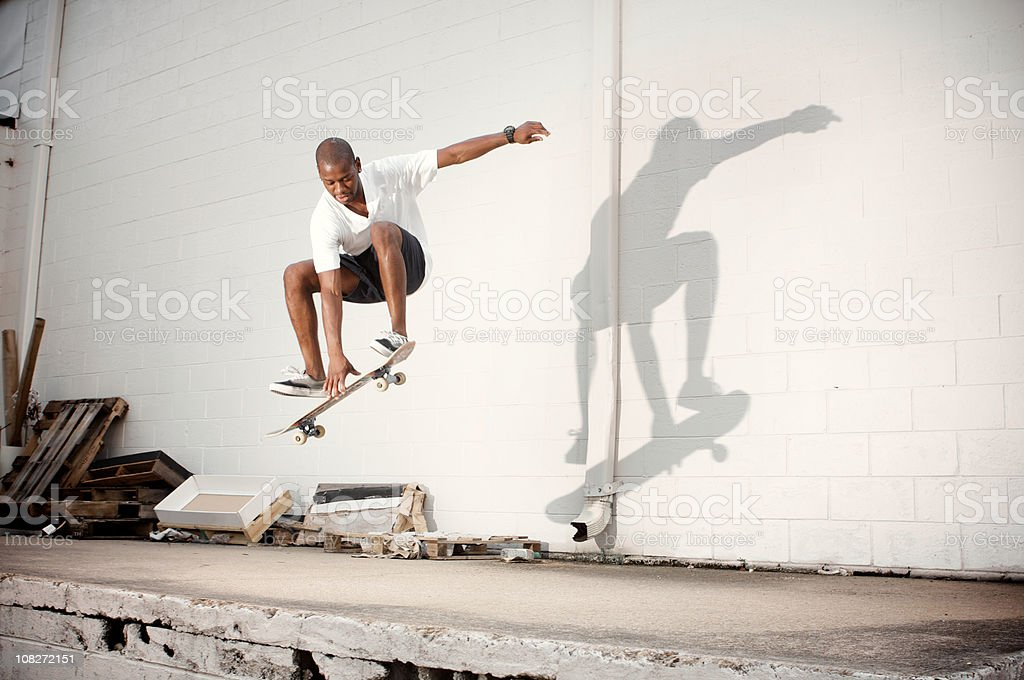 urban skate stock photo