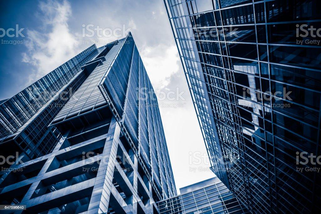Urban skyscraper stock photo