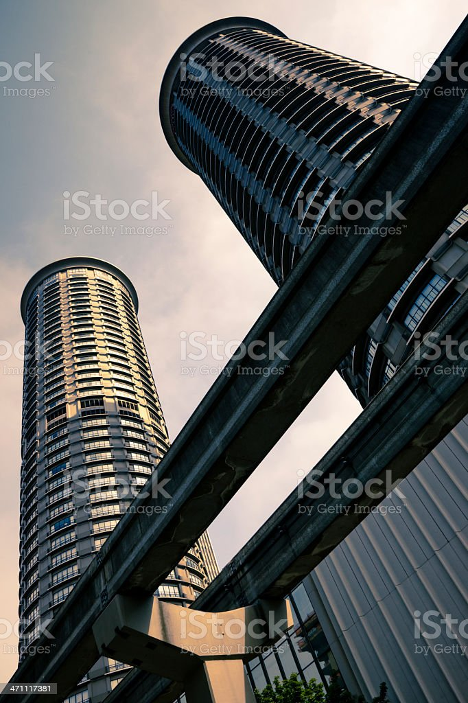 Urban Skyscrapers Series V stock photo