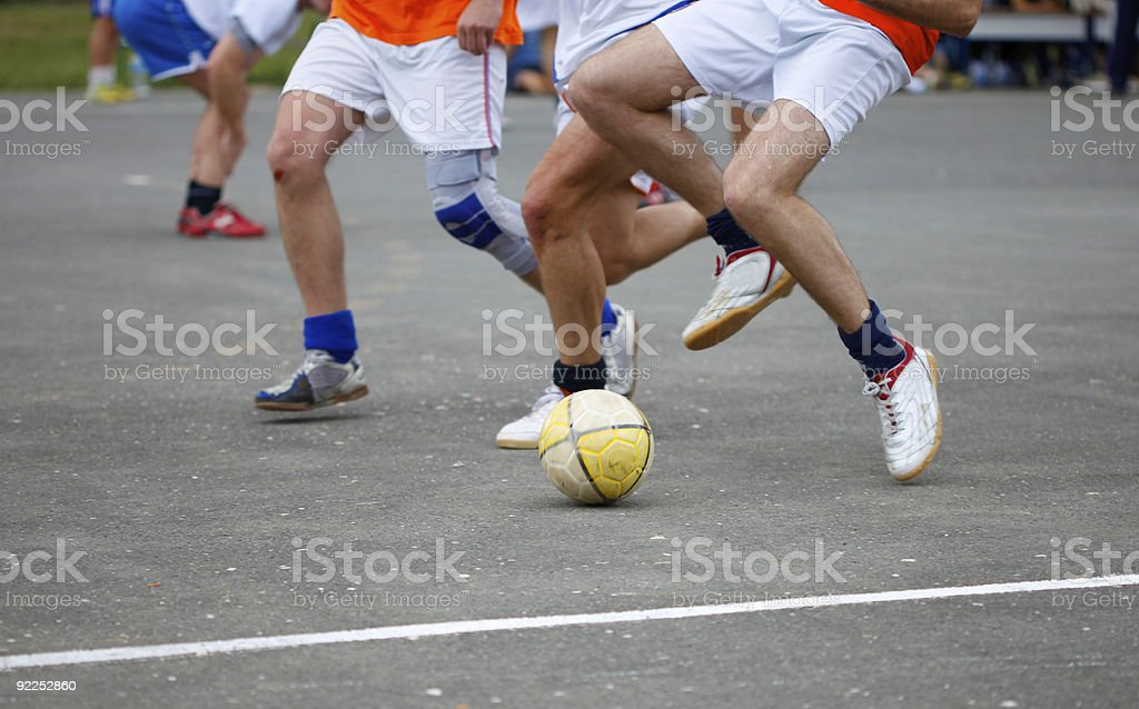 urban soccer royalty-free stock photo