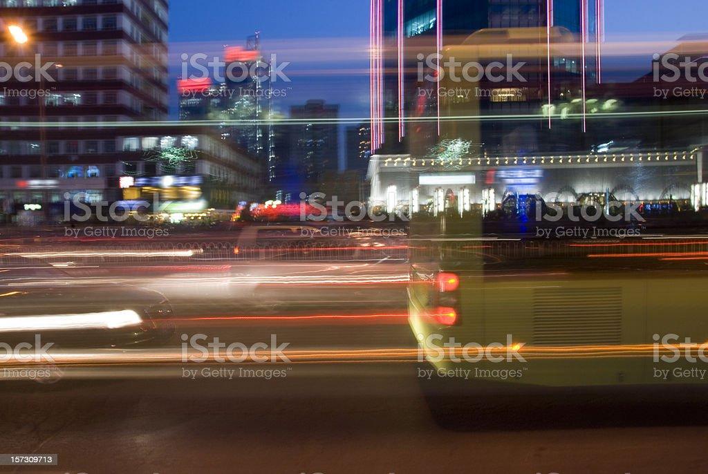 Urban speed royalty-free stock photo
