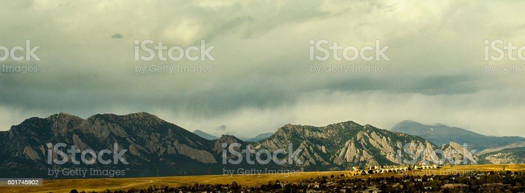 Urban Sprawl: Broomfield, Colorado stock photo