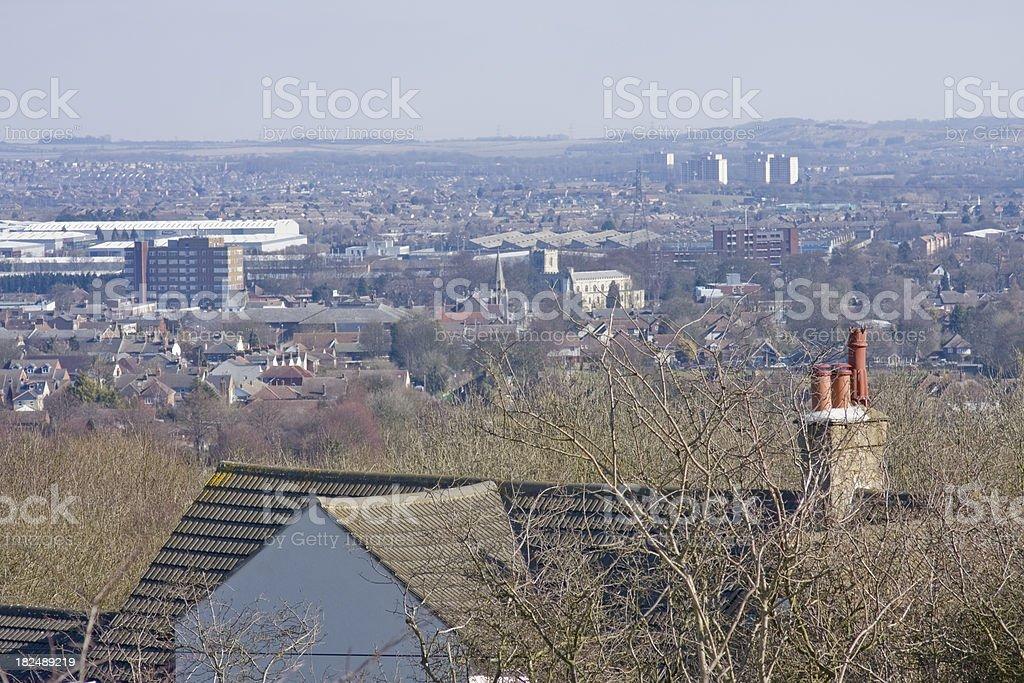 Urban Sprawl royalty-free stock photo