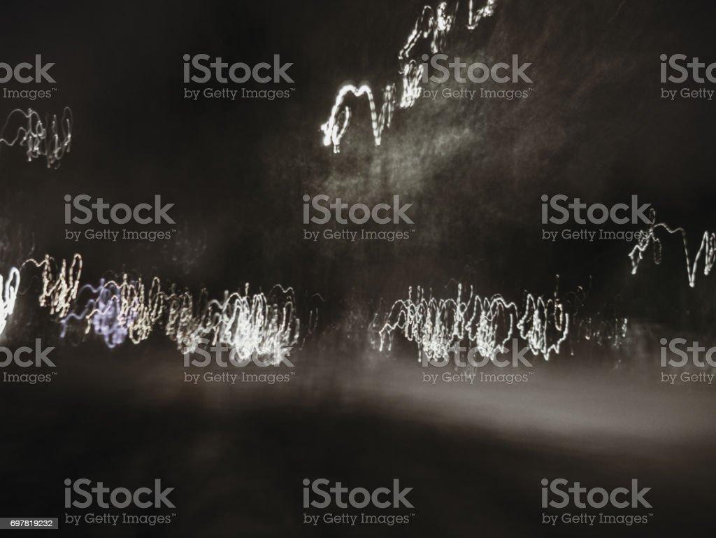 urban street electricity lights. retro classic style background texture. stock photo