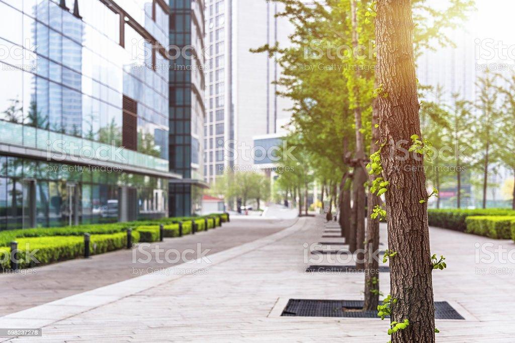 urban street stock photo