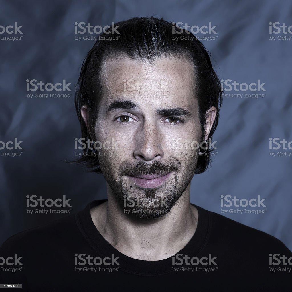 urban stylish young man stock photo