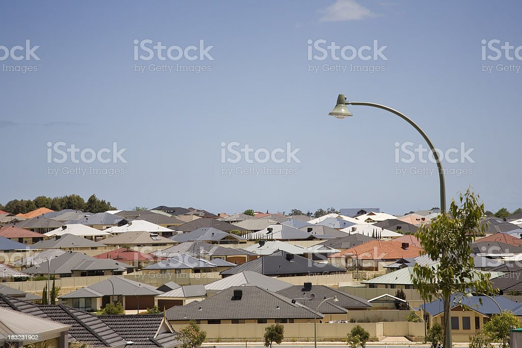 Urban Suburb royalty-free stock photo