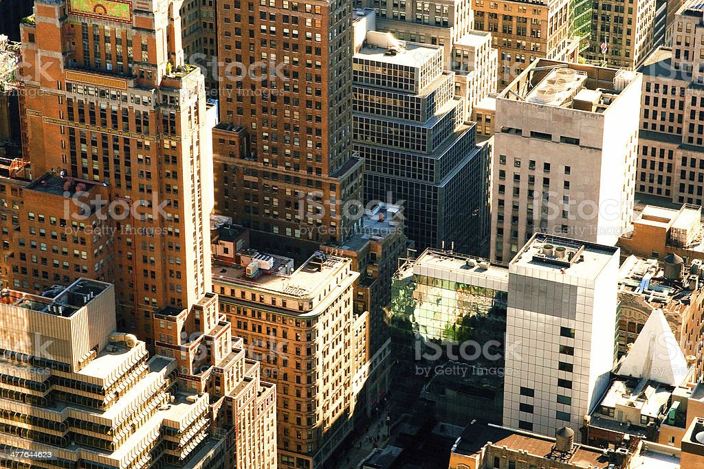 Urban summer royalty-free stock photo