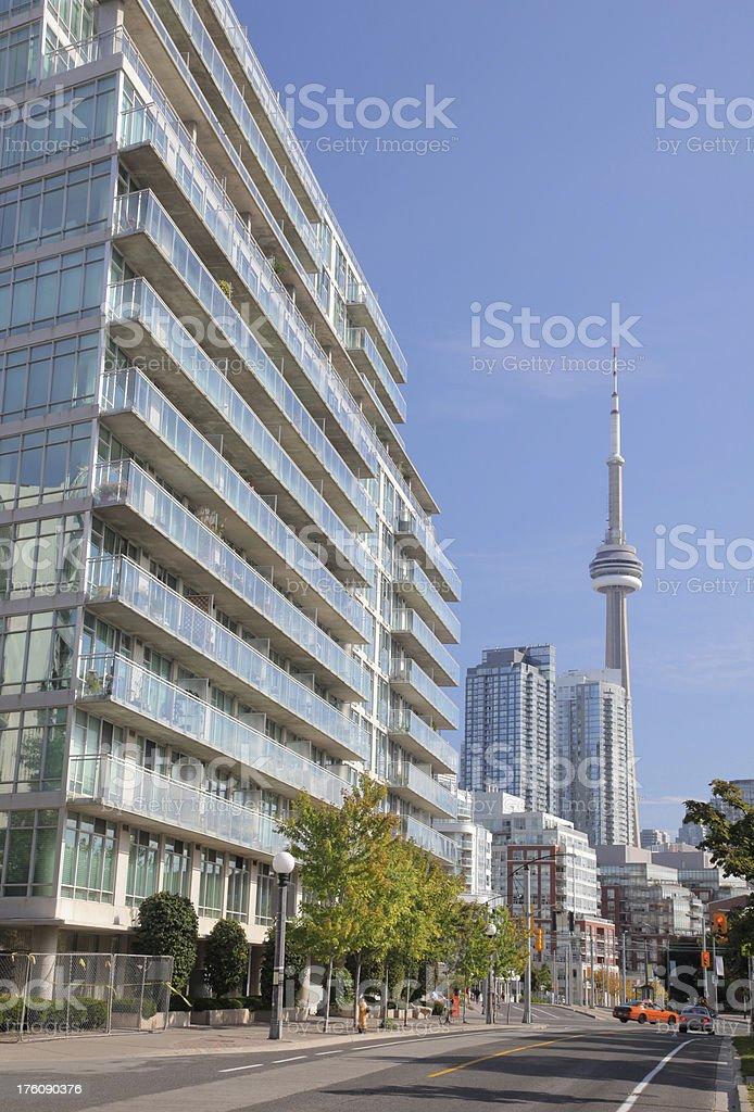 Urban Toronto Street stock photo