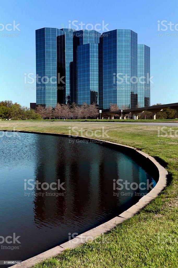Urban Towers Las Colinas stock photo