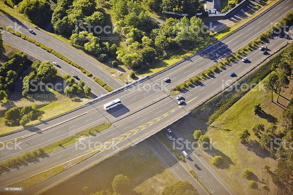 Urban transportation royalty-free stock photo