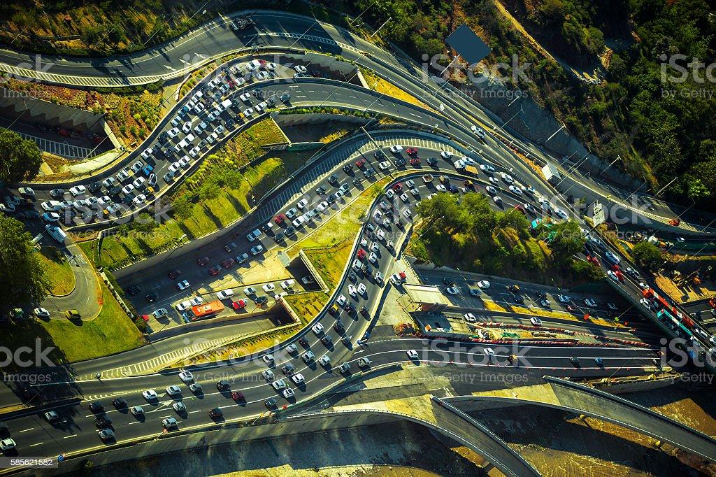 Urban transportation stock photo