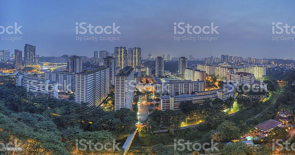 Urban Twilight stock photo