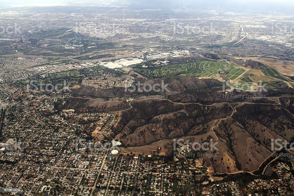 Urban View Of outer LA royalty-free stock photo