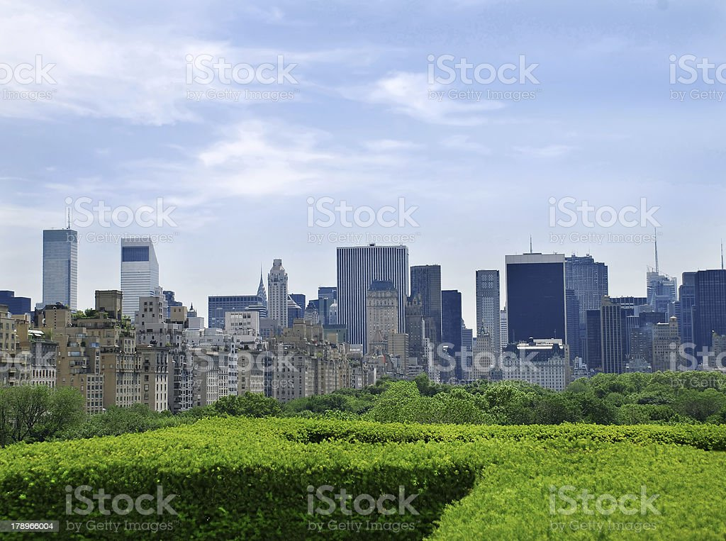 Urban view stock photo