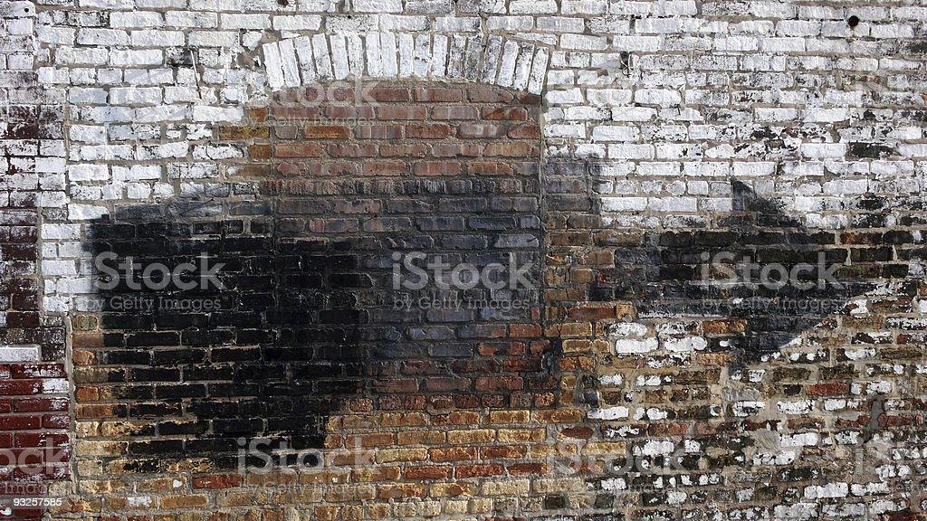 Urban Wall royalty-free stock photo