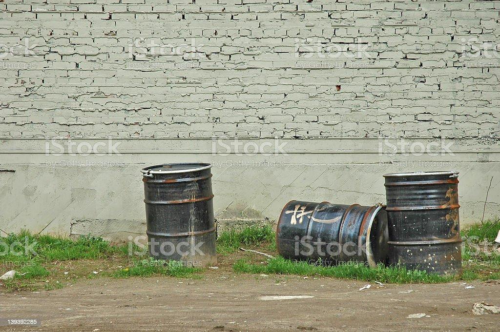 Urban Waste 1 royalty-free stock photo
