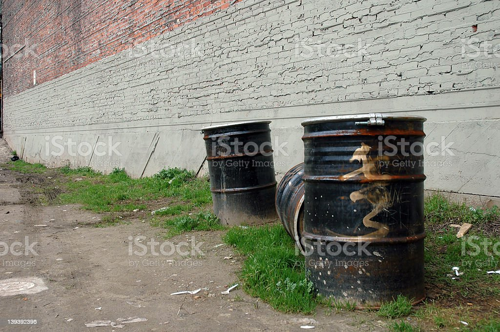 Urban Waste 3 royalty-free stock photo