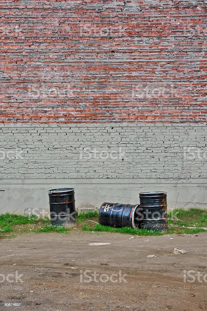 Urban Waste 5 royalty-free stock photo