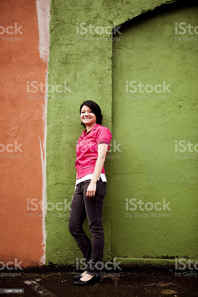Urban Woman royalty-free stock photo