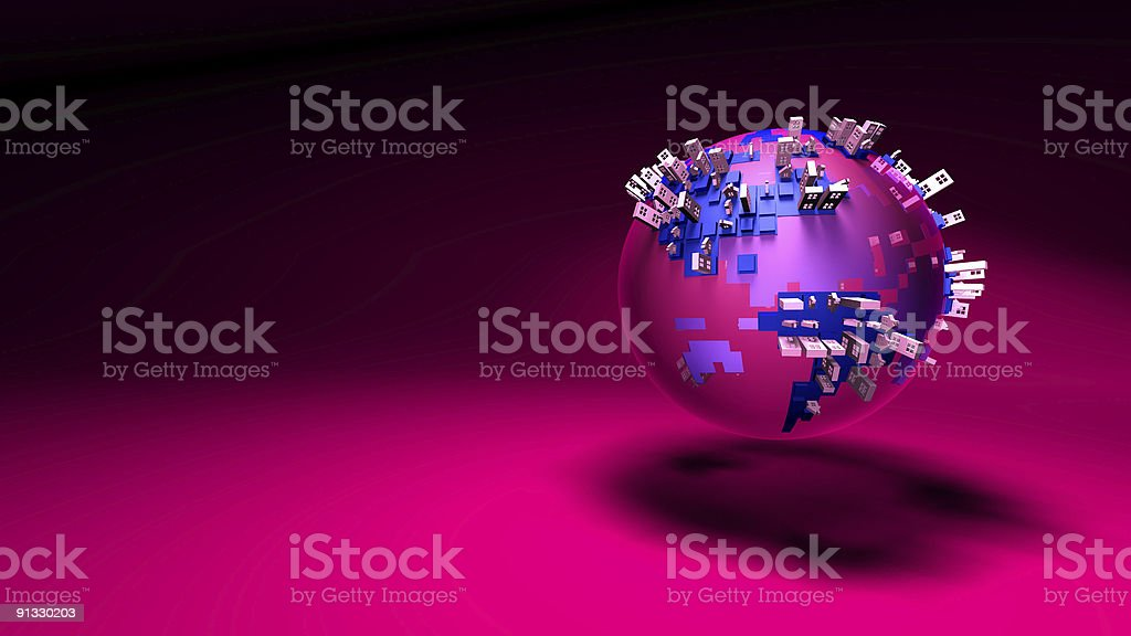 Urban world royalty-free stock vector art