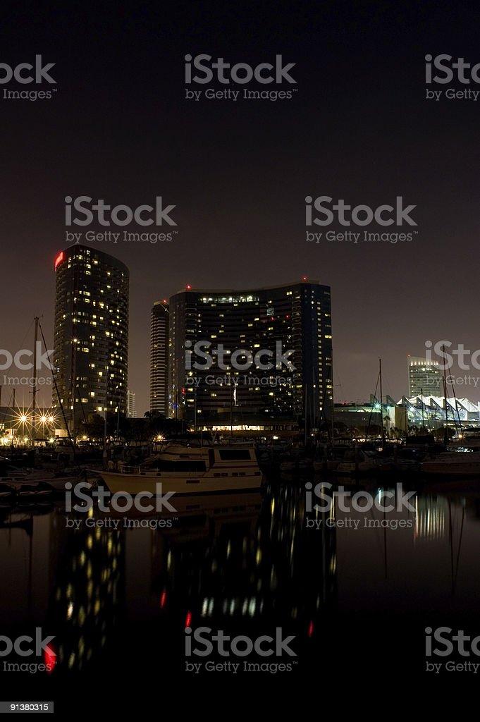 Urban Yacht stock photo