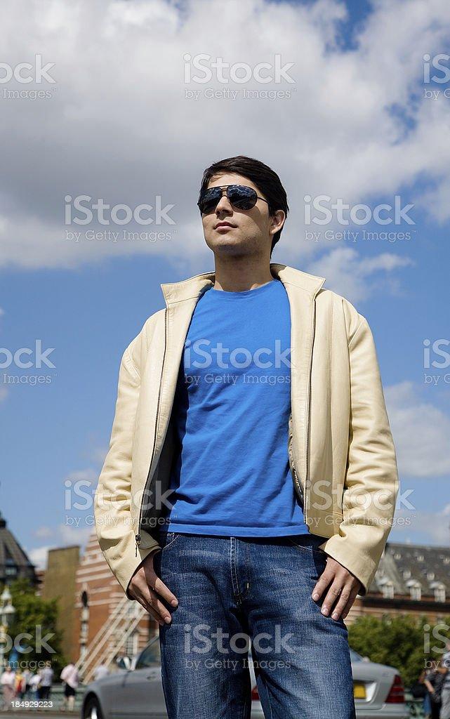 Urban young man. royalty-free stock photo