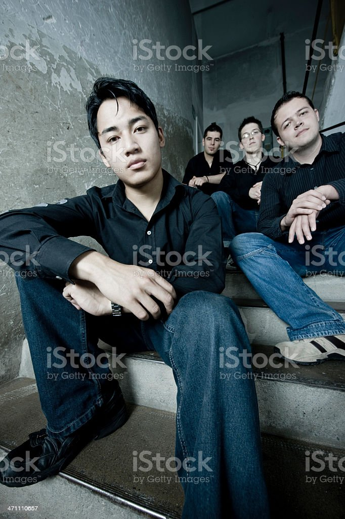 Urban Youth Group Portrait royalty-free stock photo