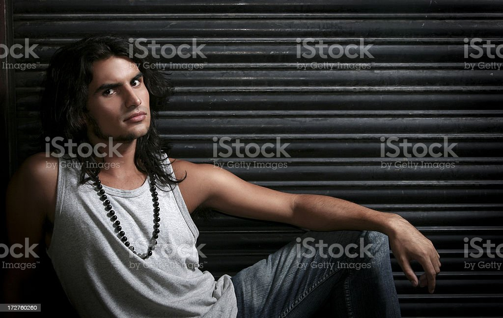 Urban Youth - Handsome Guy royalty-free stock photo