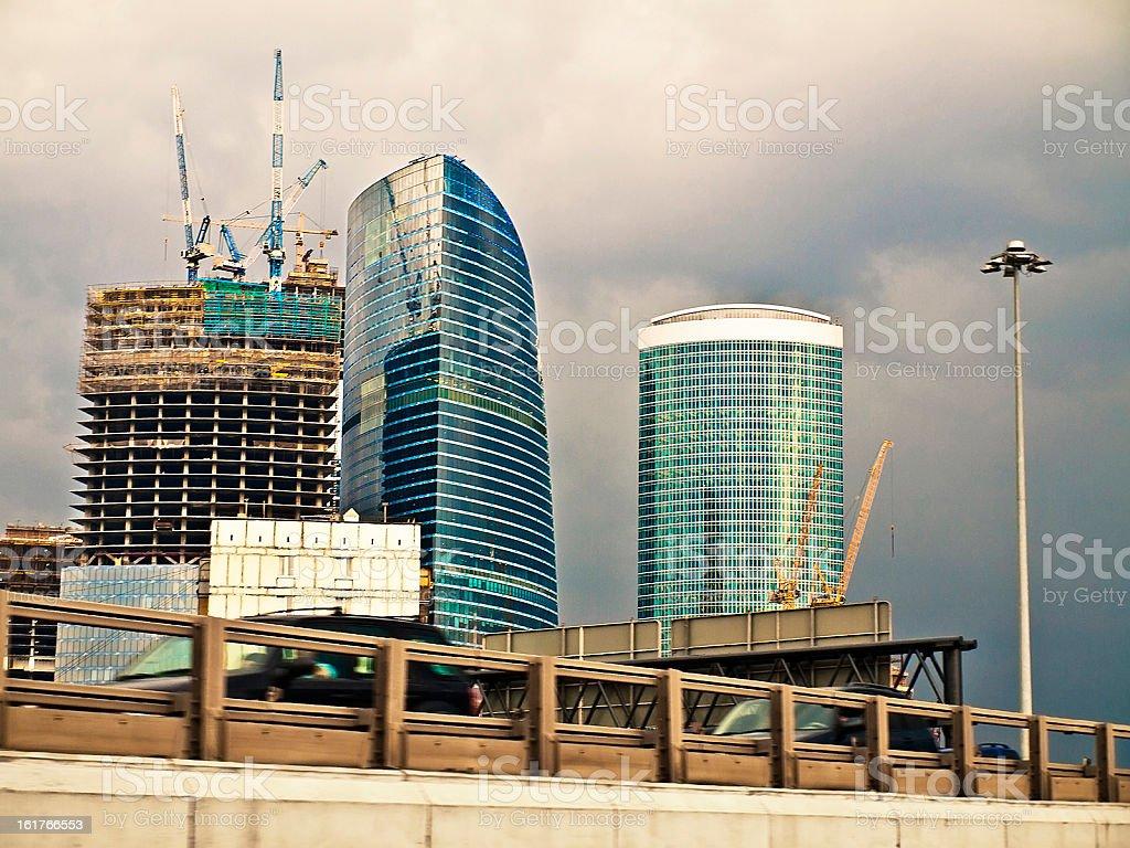 urbanization royalty-free stock photo