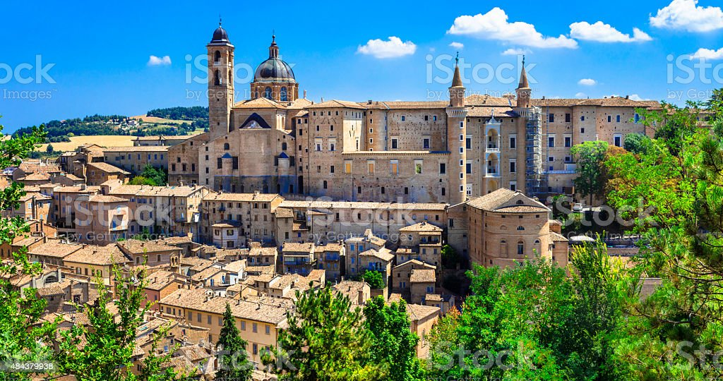Urbino,Marche,Italy stock photo