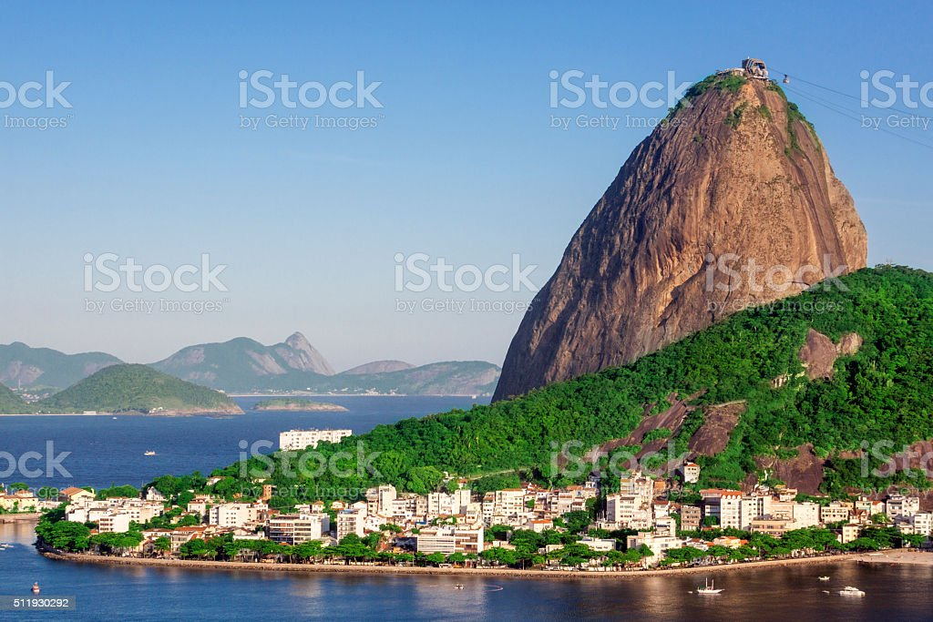 Urca district stock photo