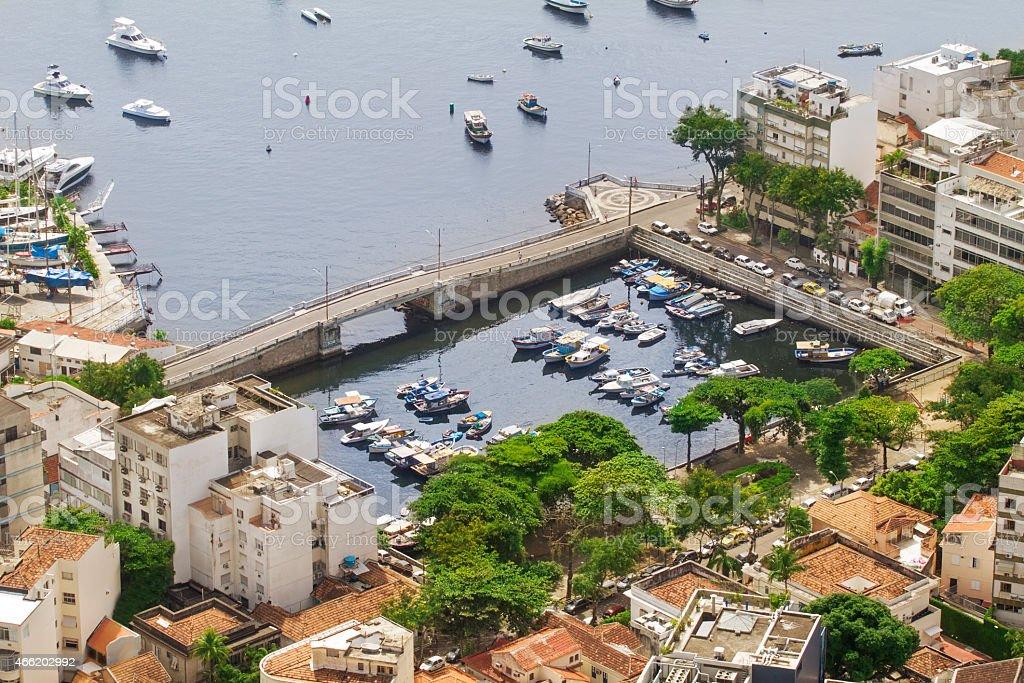 Urca in Rio de Janeiro stock photo