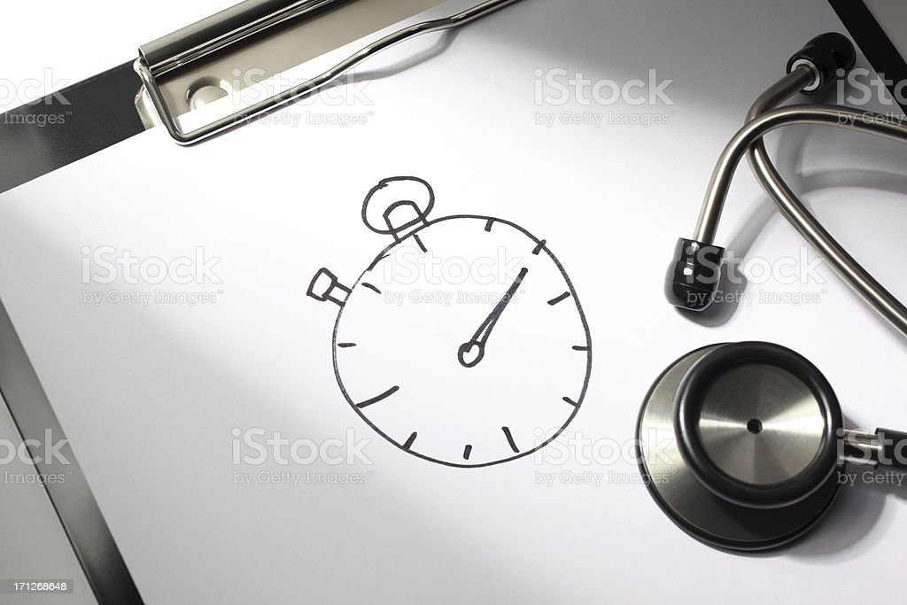 Urgent Medical Attention royalty-free stock photo