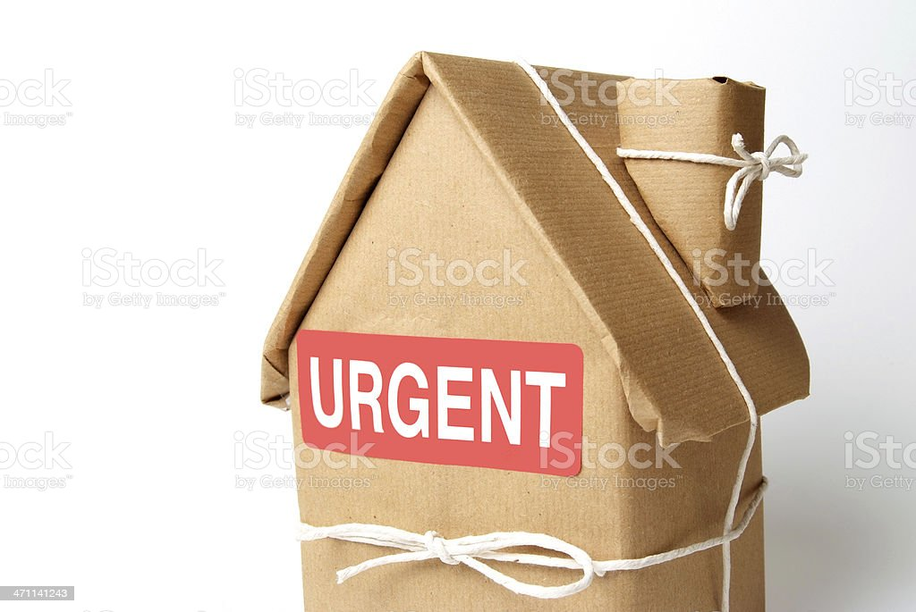 Urgent Move royalty-free stock photo