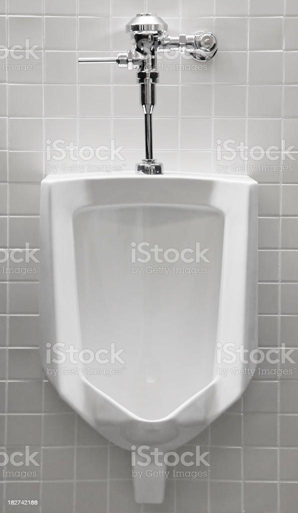Urinal royalty-free stock photo
