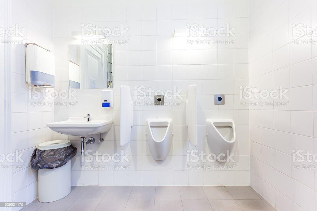 urinal stock photo