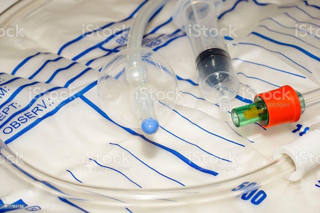 Urinary catheter stock photo