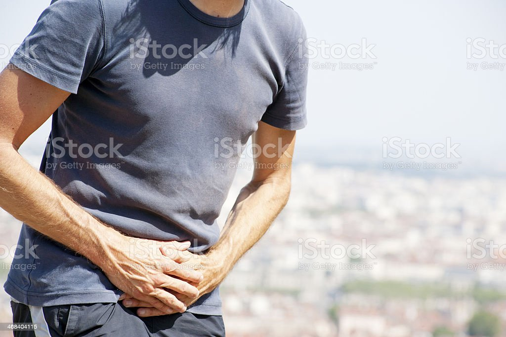 Urogenital problems stock photo