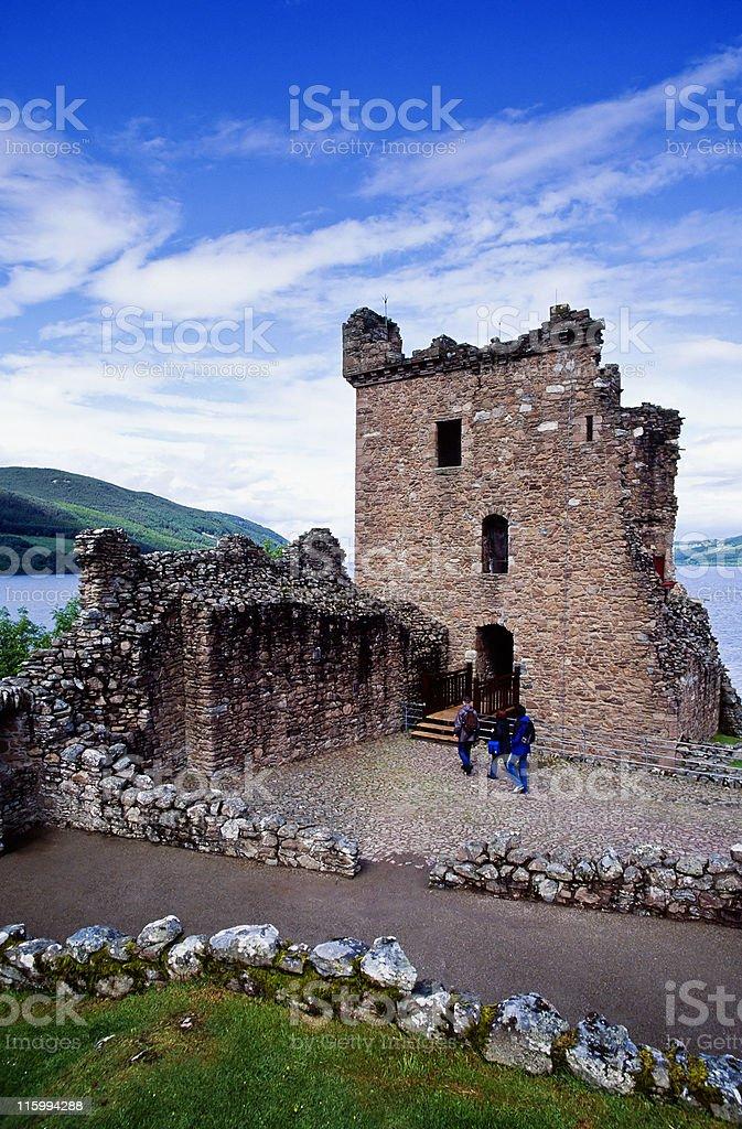 Urquhart Castle royalty-free stock photo