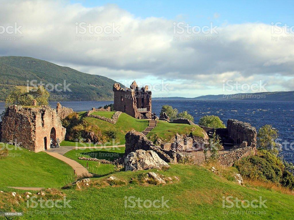 Urquhart Castle, Scotland royalty-free stock photo